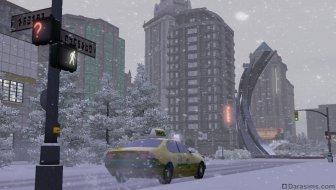 Зимний Бриджпорт в «The Sims 3 Времена года»