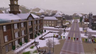 Зимняя Аппалуза Плейнс в «The Sims 3 Времена года»