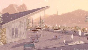 Зимний Лаки Палмс в «The Sims 3 Времена года»