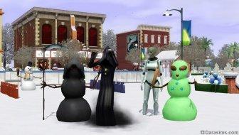 В «The Sims 3 Времена года» наступает зима!