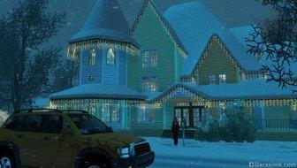 Снежный денек в «The Sims 3 Времена года»