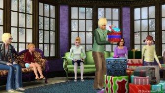 Вечеринка с раздачей подарков в «The Sims 3 Времена года»