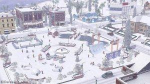 Зимние радости в «The Sims 3»