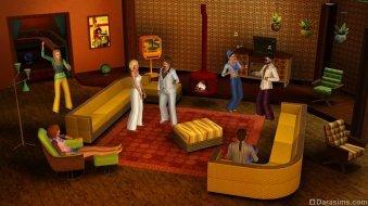 Вечеринка в стиле 70-ых из «The Sims 3 Стильные 70-е, 80-е, 90-е»