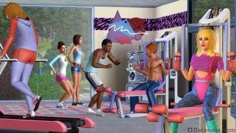 Спорт в стиле ретро из каталога «The Sims 3 Стильные 70-е, 80-е, 90-е»