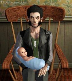 Мысли о неизбежности отцовства настигли неожиданно [The Sims 3]