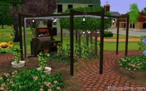 Теплица «Брось камень» в The Sims 3 Store
