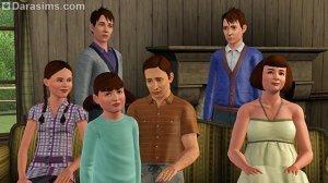 Обзор семей Мунлайт Фолз в «Симс 3 Сверхъестественное»