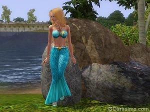Русалки — новые сверхъестественные существа в «Симс 3 Райские острова»