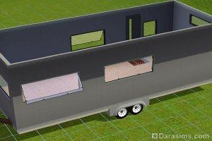 Строительство трейлера на колесах в Симс 3