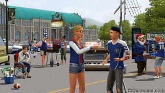 Интервью в «The Sims 3 University Life»