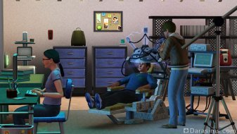 Детектор лжи в «The Sims 3 University Life»
