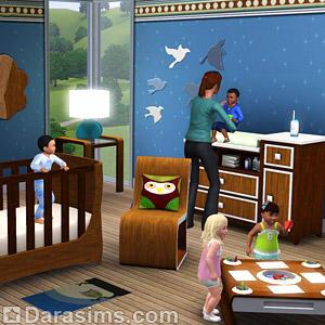 В The Sims 3 Store появится пеленальный стол для детей
