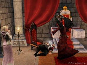 Виды смерти в «Симс Средневековье»