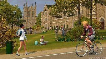 Университетский городок в «The Sims 3 University Life»