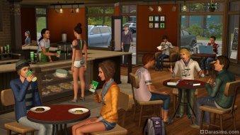 Кафе в «The Sims 3 University Life»