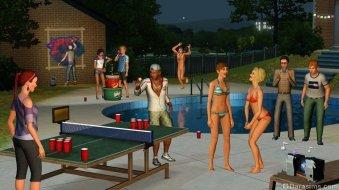 Студенческая вечеринка в «The Sims 3 University Life»