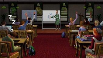 Лекции в «The Sims 3 University Life»