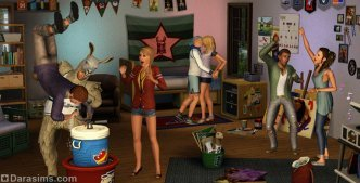 «The Sims 3 Студенческая жизнь». Первые факты о дополнении