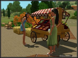Уличный рынок «На открытом воздухе» в Монте Виста