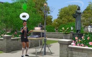 Портативная радиостанция в «The Sims 3 Студенческая жизнь»