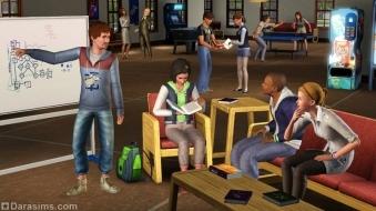 Работа в группах в «The Sims 3 Студенческая жизнь»