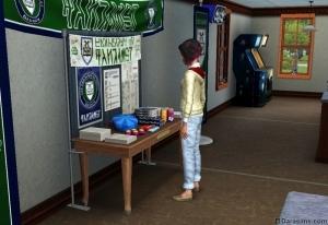 Информационный стенд «The Sims 3 Студенческая жизнь»