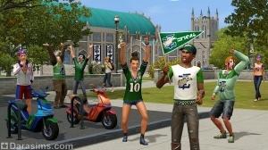 Подарки для покупателей «The Sims 3 University Life»