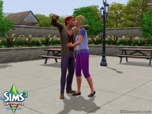 Романтичное фото в «The Sims 3 Студенческая жизнь»