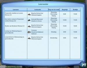 Куда пойти учиться в «The Sims 3 University Life»?