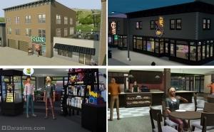 Строительство в «Симс 3 Студенческая жизнь»