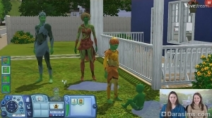 По итогам видео-чата о «The Sims 3 Студенческая жизнь»