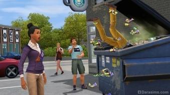 Бедный студент в «The Sims 3 University Life»