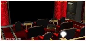 Кинотеатр «Диамант» и эксклюзивные материалы в The Sims 3 Store