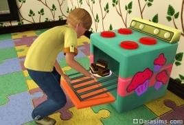 Детская выпечка и ее продажа в «Симс 3 Карьера»