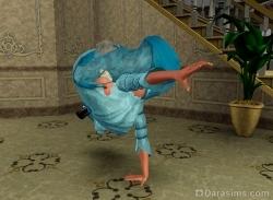 Не подадите руку даме? Я тут слегка споткнулась.. Чертов кринолин.. [The Sims 3]