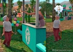 Любви покорны все возрасты и... росты! [The Sims 3]