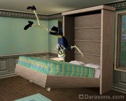 Скеля и кровать Мерфи [The Sims 3]
