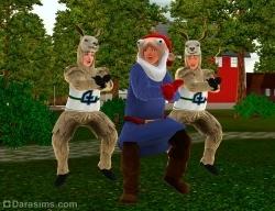 Гангнам стайл [The Sims 3]