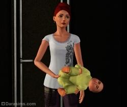 Вот как надо держать детей [The Sims 3]