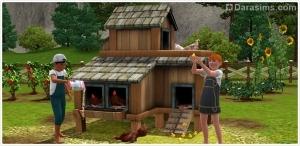 Блог разработчиков: сельская жизнь в «Симс 3»