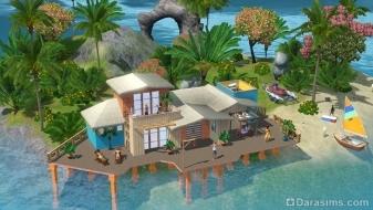 Строительство над водой в «The Sims 3 Island Paradise»