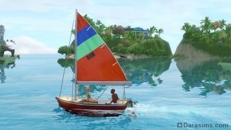 Лодки в «The Sims 3 Island Paradise»