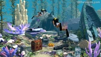 Подводный мир в «The Sims 3 Island Paradise»
