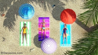 Пляжный отдых в «The Sims 3 Island Paradise»