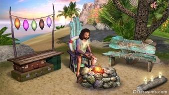 Робинзоны в «The Sims 3 Island Paradise»