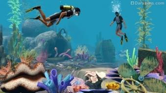 Дайвинг в «The Sims 3 Island Paradise»