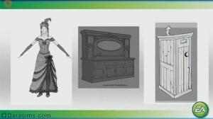 The Sims 3 Movie Stuff: концепт-арты