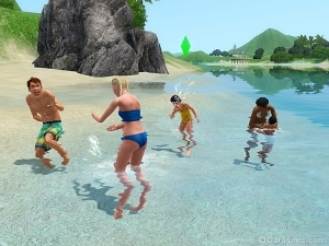 Блог разработчиков: подводные забавы в «The Sims 3 Райские острова»