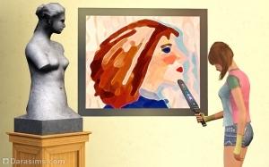 Бунтари и оценщики произведений искусства в «Симс 3 Студенческая жизнь»